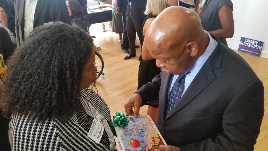 veronica-with-congressman-john-lewis-1