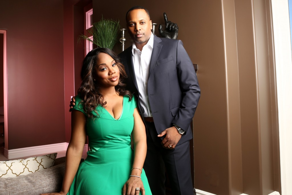 Sarah Jakes Roberts and husband, Pastor Touré Roberts.