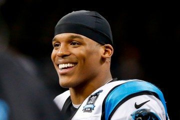 Dec 7, 2014; New Orleans, LA, USA; Carolina Panthers quarterback Cam Newton (1) against the New Orleans Saints during the second half of a game at the Mercedes-Benz Superdome. The Panthers defeated the Saints 41-10. Mandatory Credit: Derick E. Hingle-USA TODAY Sports ORG XMIT: USATSI-180404 ORIG FILE ID:  20141207_pjc_ah6_439.JPG