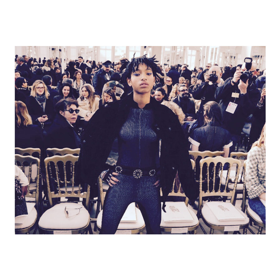 Willow Smith Makes Waves from Head to Toe as Chanel Brand Ambassador
