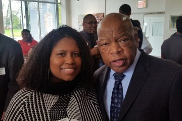 veronica-with-congressman-john-lewis-2