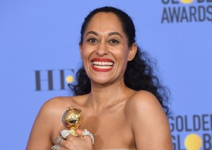 "Tracee Ellis Ross Dedicates Award to Women of Color, ""Colorful People"""