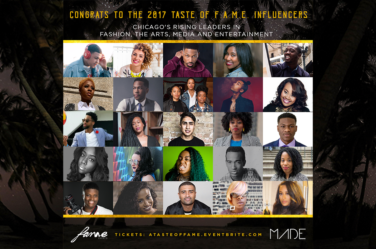 A Taste of F.A.M.E. 2017 Influencer List
