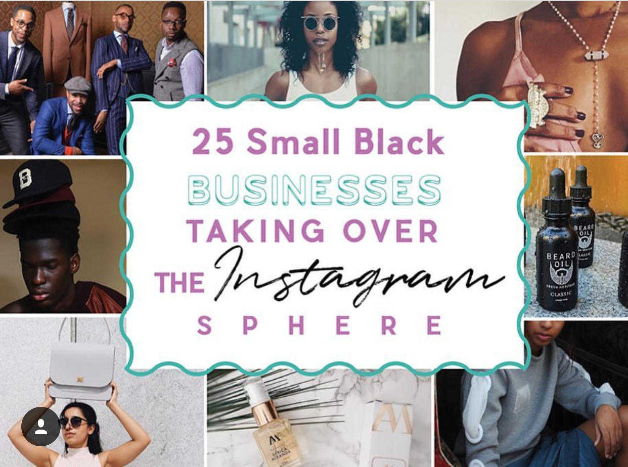The Little Black Instagram Book: Black Business Directory